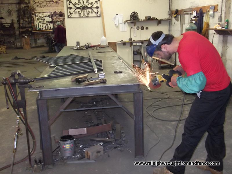 Raleigh Wrought Iron And Fence Co Blacksmith Workshop