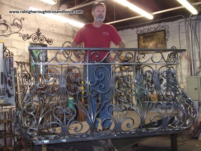 Iron Juliet Balcony Raleigh Wrought Iron Co
