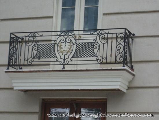 Iron balconet raleigh wrought co