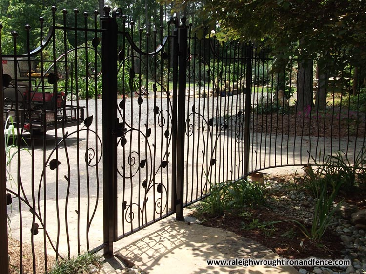Raleigh wrought iron and fence co custom