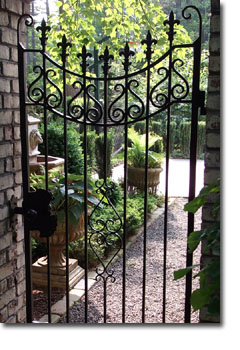Raleigh Wrought Iron And Fence Co Custom Gates In NC Durham Chapel Hill