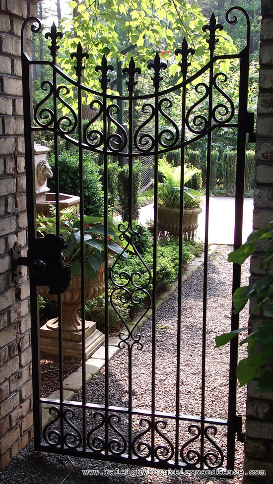 Iron gates ornamental designs