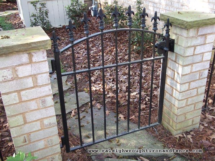 Wrought Iron Wood Gates Gates Wrought Iron Gates Pictures To Pin On