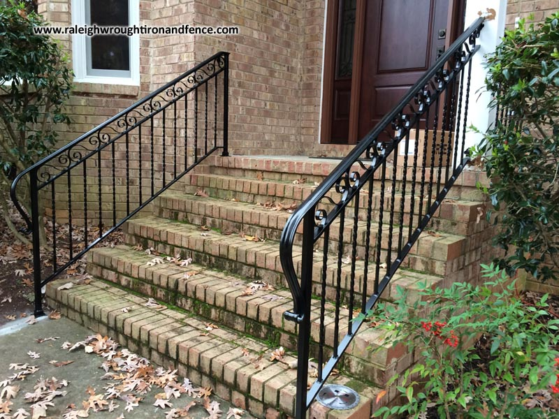 Raleigh Wrought Iron Railing Fabrication