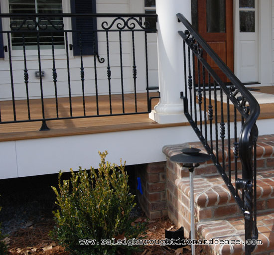 Greensboro Nc Custom Wrought Iron Railings Raleigh Wrought