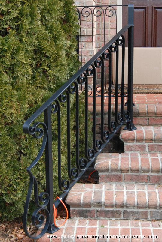 Outside Stair Railing Ideas Deck Steps