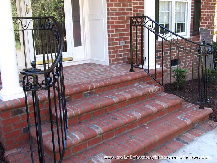 Dallas Tx Fort Worth Custom Wrought Iron Railings Raleigh