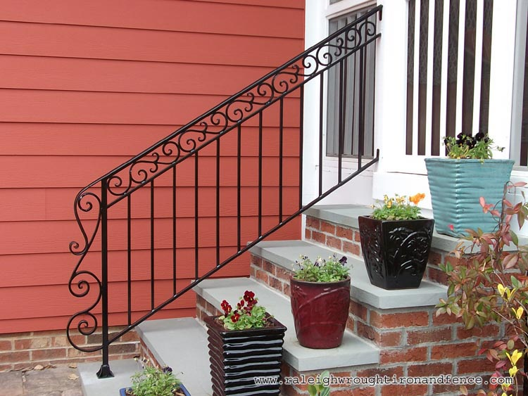 Philadelphia Pa Custom Wrought Iron Railings Raleigh
