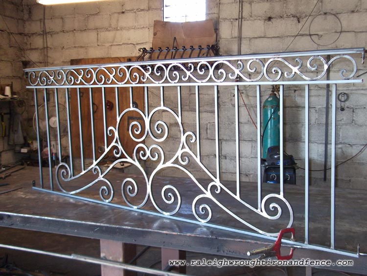 Houston Tx Custom Wrought Iron Railings Raleigh Wrought