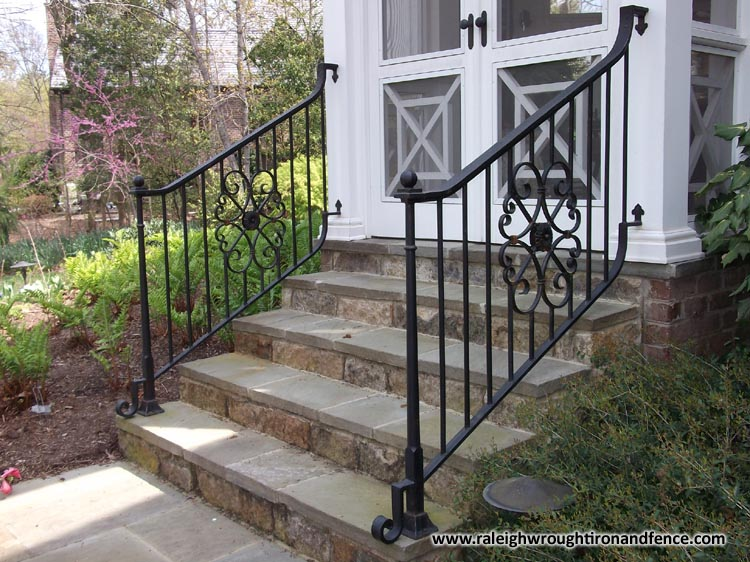 Boston Ma Custom Wrought Iron Railings Raleigh Wrought