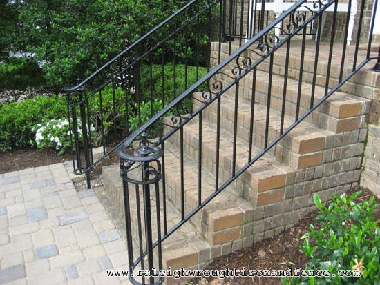 Durham nc custom wrought iron railings raleigh