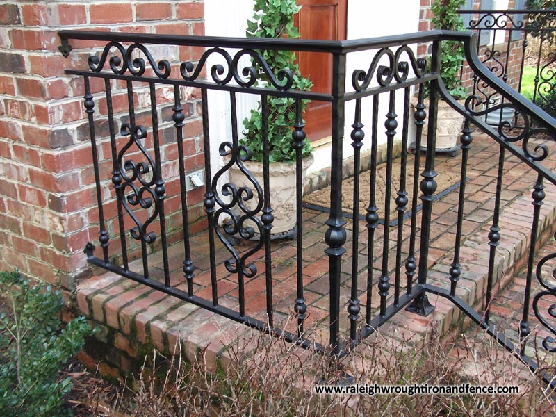 Charlotte Nc Wrought Iron Railing Balcony