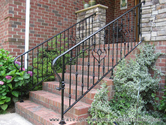 Durham nc custom wrought iron railings raleigh