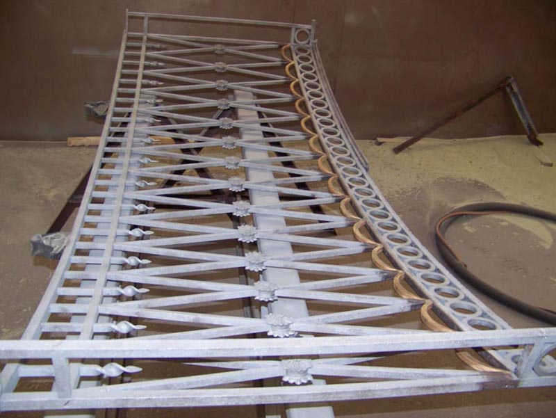 Raleigh Wrought Iron Co Sandblasting And Powder Coating